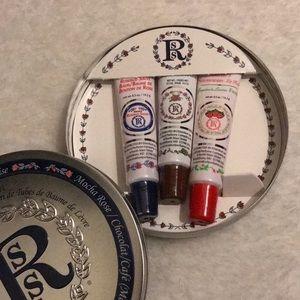 BNIB Tin Smith's Rosebud Salve Balm Trio Lip Balm